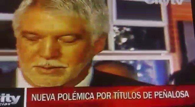 Sube temperatura por nueva denuncia sobre falsedad del alcalde PEÑALOSA en su HV. Mañana sería denunciado penalmente https://t.co/44CZ5NhtIf