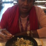 Took my mum to Wagamama for lunch. This was her reaction. 😂😭 https://t.co/EsDBFw41t7