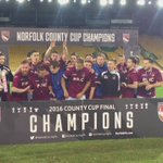 Congratulations to @SchoolhouseFC, Sunday Senior Cup Champions 🏆! https://t.co/HcLjuiZUxO