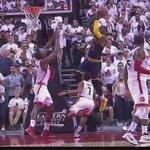 Bismack Biyombo blocks LeBron James at the rim, gets called for a foul. JVG doesnt like it. https://t.co/0u8fqtICLz