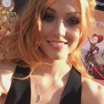 .@Kat_McNamara sends her love to her #Shadowhunters fans from the Disney Alice #ThroughTheLookingGlass red carpet. 💙 https://t.co/8WVWNsTz5g