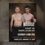 Contenders 15 , 4th June 2016 @theshowground streaming world wide in HD https://t.co/4jzf2Zp8gM #Norwich #mma https://t.co/MBFigiZznp