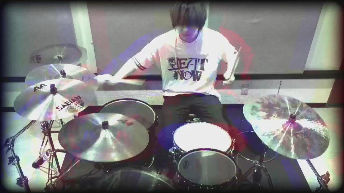 ❇︎The Asterisk War / 西沢幸奏❇︎えくすとりーむな感じでドラム叩いてみたぞ。◥(ฅº₩ºฅ)◤#30