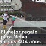 Hoy se celebran 404 años de l fundación de Neiva, nuestro mejor regalo el compromiso diario para  su transformación. https://t.co/DV9s1LjZXG