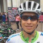 .@estecharu al via! #Giro https://t.co/LwHX1fFGuS