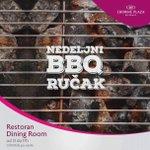 Očekujemo lepo vreme za #vikend pa u nedelju u #DiningRoom #bašta pravimo roštilj! Rezervacije na: 011-2204004 https://t.co/4suBj4nyJ6