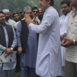Chairman #PTI @ImranKhanPTI meeting w/ locals in Palas, Kohistan. Discussed with them access roads & infrastructure https://t.co/toHS01ZSU9