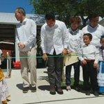 Junto al titular del INIFED, @HectorHGutierre, cortamos el listón inaugural del jardín de niños Luz Alba Loría Pérez https://t.co/8dSfK8l0et