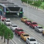China unveils elevated bus that can drive over the TOP of other cars https://t.co/7MSvzOUdKx https://t.co/6x2t1MCkSa