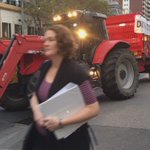 Tractor hits Melb CBD to bring rural dairy message to the high street https://t.co/1pYFEdXnHJ
