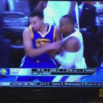 Dawggggggg, the way theyre checking Steph here is insane. https://t.co/2g2Zky3e0b