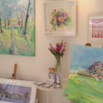 Just hung this new #Summer collection of my #artwork at Dove Tree #Gallery #Harrogate online https://t.co/E9QJJ2weOL https://t.co/jFhlaenN6F