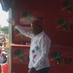 CIC @Julius_S_Malema has arrived at Mjindini Kakoper Open Ground #VoteEFF https://t.co/O5JvQpKdlR