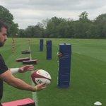 When a back spots the camera rolling at training 🎥📸 @Jamiehuwroberts https://t.co/3JeGzAji9E