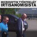 Näin Microsoftin työntekijät ottivat irtisanomisuutiset vastaan Tampereella. #Microsoft #ylekioski https://t.co/2pRWxFbHf5