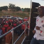CIC @Julius_S_Malema has arrived at #Bushbuckridge, Mariti #VoteEFF https://t.co/ntcmrk51ui