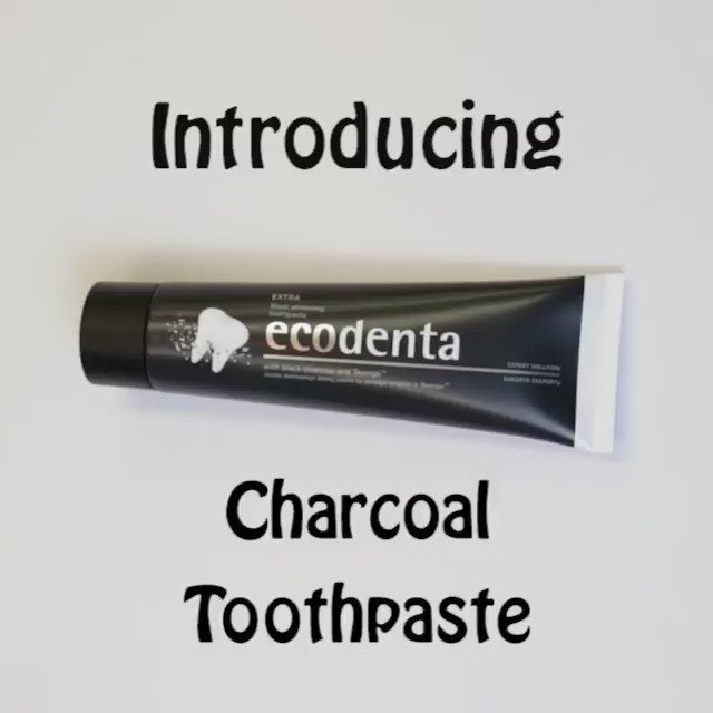 Don't be fooled by its appearance, this toothpaste has an extra strong whitening effect & is 93% natural. Smile! https://t.co/t3zy9Vi5B6