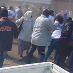 WATCH - fighting for t shirts. Sad desperation ahead of #millionmanmarch #sabcnews https://t.co/Ryn0LumOAi