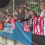 📺 ¡Pasión por los internacionales del @AthleticClub tras el entrenamiento de la @SeFutbol! #SEFlive https://t.co/1BkOkAL4IY