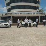 Entregamos parque vehicular a diversas escuelas y áreas administrativas de la @UACam_Avanza con inversión de 9.4 mdp https://t.co/T3lEGsJHhW