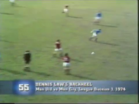 The day Denis Law scored the goal that relegated Manchester United.. https://t.co/W4ncYWEpS1
