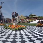 """Relive tortoise """"James"""" thrilling Zoopolis 500 victory today! Will this help @Hinchtowns chances for #Indy500? https://t.co/i71pPnvKE0"""