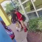 Kid in the red shirt was being bullied by the kid in the black shirt. He didnt know the kid in red trains MMA https://t.co/FtCFr4qE7b