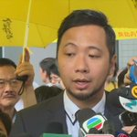 VIDEO: #Occupy protester #KenTsang reacts to the court verdict. https://t.co/JNlTMbJLh7 https://t.co/HAmFnCqzpl