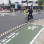 Local #Wolverhampton cyclist takes a ride on the new #cyclepath See Fri #expressandstar https://t.co/fK23LiQKyX