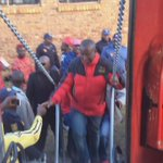 CIC @Julius_S_Malema has arrived at #Kwamhlanga #VoteEFF https://t.co/CPtjLOgwXq
