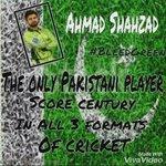 @iamAhmadshahzad Amazed To See Ur Achievements in Just 24 yrs Of Age U R A PROUD SON OF PAK #pakistaniTujheSalam???? https://t.co/hDWT3XTmLn