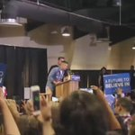 Bernie Sanders walks out to DMXs Where The Hood At in Lancaster, CA https://t.co/Lw30peKMlO