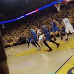 Quick #SPLASH from @hbarnes to open things up ☔️ https://t.co/fpFCij73Gi