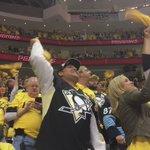 .@penguins fans ERUPT after taking a 2-1 lead. #StanleyCup https://t.co/dJKPThDiie