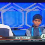 #SAVAGE move by Yung Nihar clapping in the grill of his soon to be vanquished foe #spellingbee https://t.co/gHP1XRj1CC