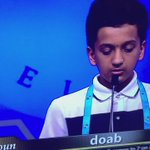 When you know your son knows how to spell doab #SpellingBee https://t.co/Bk9RRvvle6