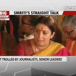 Not many can stand up publicly for common folks who got attacked by journos, like @smritiirani does. 🙏 Thankyou! https://t.co/5cCB1ZAkDz