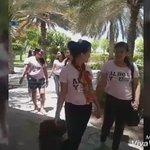 TEAM CHARMAINE GGMY AIRPORT SCENE  @ALDENatics_UAE @MAINEnatics_UAE   #ALDUBGrazieCOMO  @aldenrichards02 @mainedcm https://t.co/WcJSUtWRif