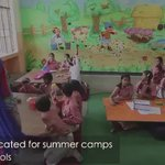 MUST WATCH Delhis Govts Summer Camp in Govt Schools is a HIT. Learning with Fun. Thx @msisodia @ArvindKejriwal https://t.co/bF3kA1eDpb