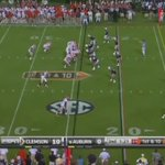 With 99 days left before Clemson visits Auburn, lets look back at Jamie Harpers diving TD grab #FlashbackFriday https://t.co/KAiSlMxH1m