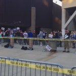 Some excited people in line here at the @realDonaldTrump rally in #DowntownFresno #Trump2016 #Fresno https://t.co/uK9B4NjUxK