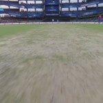 This is how the pitch looks like for Q2- @TheGujaratLions v @SunRisers https://t.co/vsvNl4TJDp