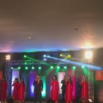 The widely known Shillong Chamber Choir enthralled the cultural evening with Vande Mataram. Heres an excerpt. https://t.co/qozmFM3SfS