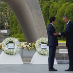 Rinde @BarackObama homenaje a las víctimas de #Hiroshima https://t.co/BFuSo5foAZ https://t.co/JFK2dc3IBY