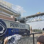 Womens Lacrosse: Penn State fans greet @PennStateWLAX upon arrival at Talen Energy Stadium for NCAA semifinals: https://t.co/THYcB6yAjl