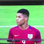 The moment Daniel Sturridge realised that he might have just lost his Euro 2016 place to Marcus Rashford ???? #MUFC https://t.co/hFg6ShfA77
