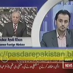 Nawaz Sharif was not ready for Nuclear blasts,it was pressure from army who made him to do blasts  Gohar Ayub https://t.co/7jMlQzFYXh