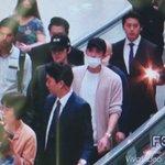 160528 ชานยอล ดีโอ ไค และเซฮุนที่สนามบินอินชอนเช้านี้เดินทางไปเซี่ยงไฮ้ งานแฟนมีตติ้งของ HATs ON ค่ะ  ©spring921127 https://t.co/jSwx6cS33i