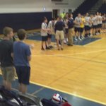 Boys Volleyball: Penn Manor getting their District 3 AAA championship medals. https://t.co/faaolGQm2M