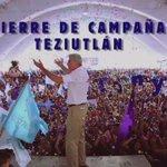 #AsíVivimos el cierre en Teziutlán. Ustedes me conocen y saben que voy a cumplir mis 22 compromisos. #YoVotoXTony https://t.co/QLujQ7WOyz